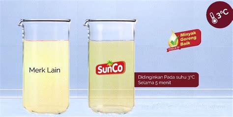 Minyak Goreng Beku sunco indonesia minyak goreng baik