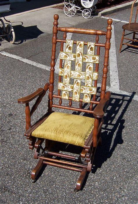 a resale antique platform rocker rocking chair