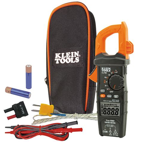 Digital Cl Meter 600a klein tools cl700 digital cl meter ac auto ranging 600a ebay