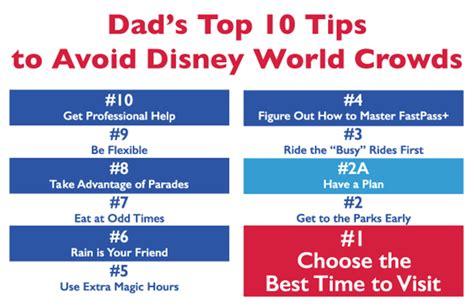 s 10 best ways to avoid disney world crowds