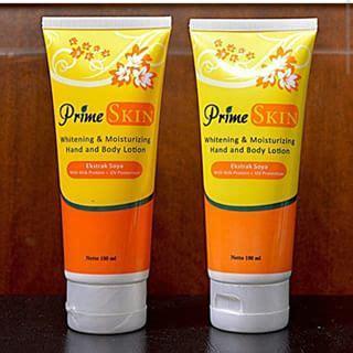 Handbody Lotion Prime Skin Prime Skin Pemutih Tubuh Terlaris prime skin lotion hwi pemutih surabaya