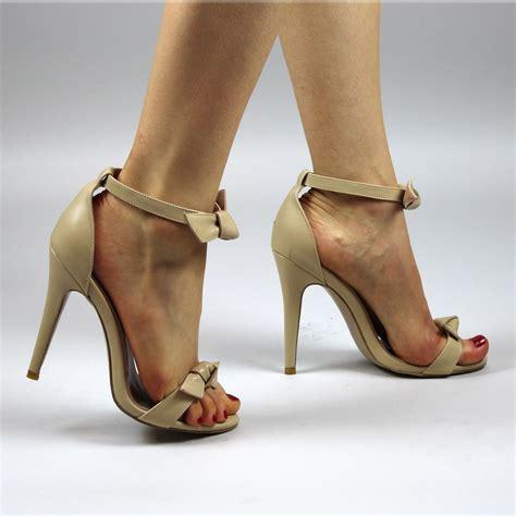 Bow Shoes black bow shoes bow ankle shoes black high heels