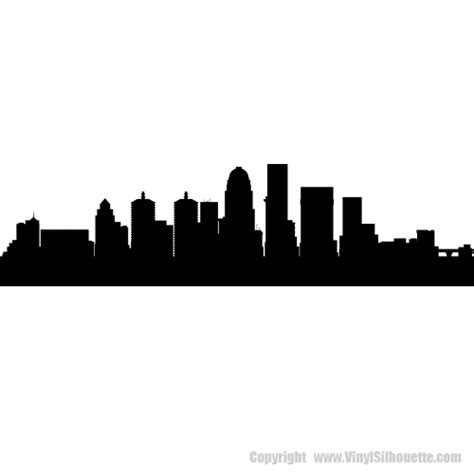louisville kentucky skyline decals wall decor
