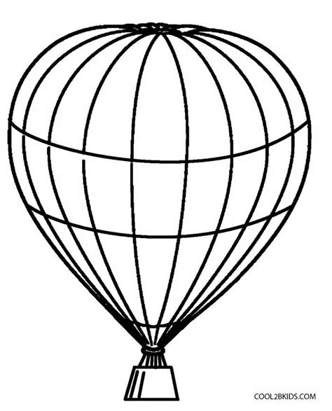 Free Coloring Pages Of Hot Air Balloon Air Balloon Coloring Pages