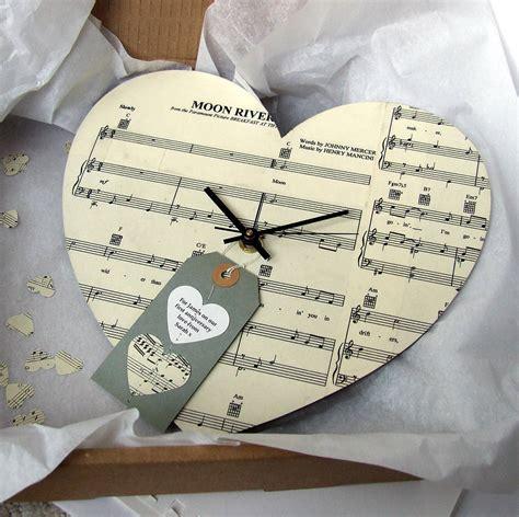 Vintage Handmade - handmade personalised vintage clock by re made