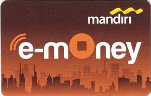 bank card  money bank mandiri indonesia colid