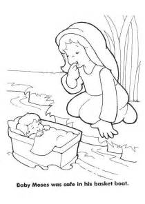 baby moses coloring page 1000 ideas about baby moses on baby moses
