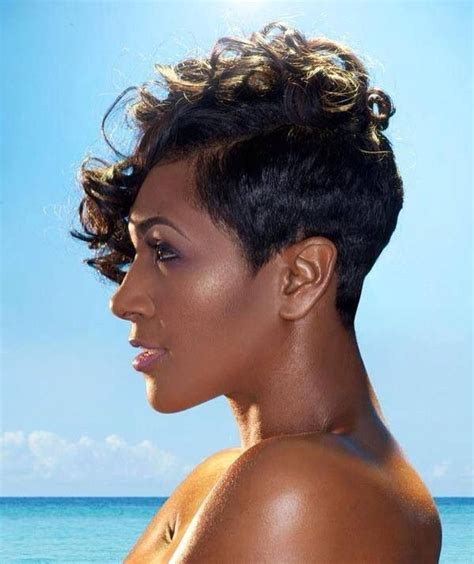 hot atlanta short hairstyles black short cut elegant hairstyles pinterest