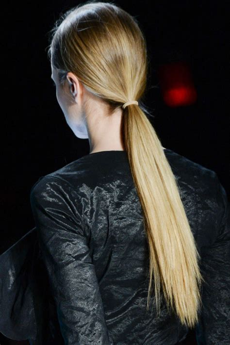 everyday ponytail hairstyles 2015 fall hairstyles 2017 runway ponytail hairstyles for fall 2015 hairstyles 2017