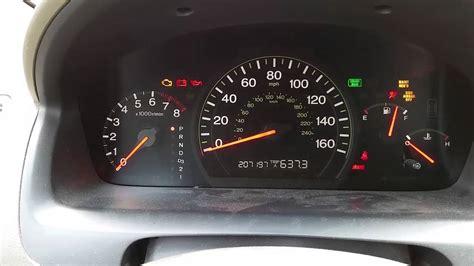 2004 honda accord maintenance required light maintenance required light honda accord 2003