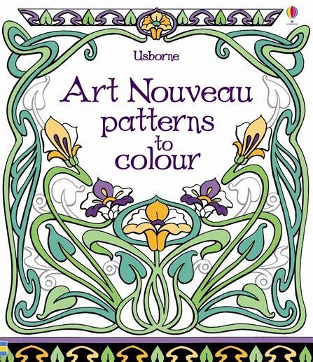 printable art nouveau designs free coloring pages of nouveau designs