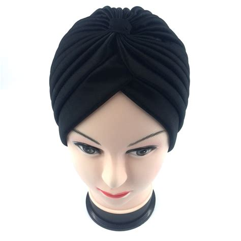 black people hair caps cheap 18 color indian style fashion unisex new head wrap