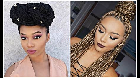 Braid Hairstyles For Black Hair 2017 by Trending And Beautiful Braids 2017 Braided Hairstyles For