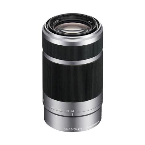 Lensa Sony E 55 210mm Jual Sony E 55 210mm F 4 5 6 3 Oss E Mount Lensa Kamera Harga Kualitas Terjamin