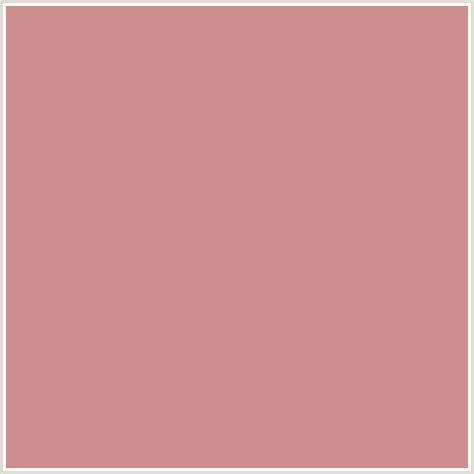 the color puce cc8e8e hex color rgb 204 142 142 puce