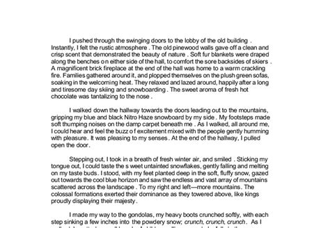 Running Is My Essay by Descriptive Essays On Running