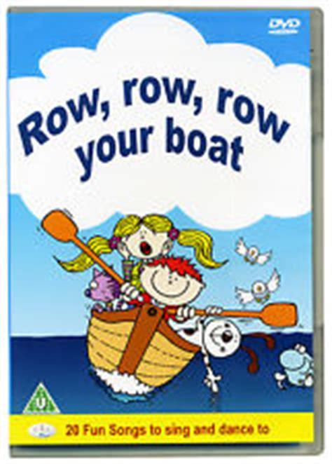 row row your boat secret row row row your boat dvd ebay