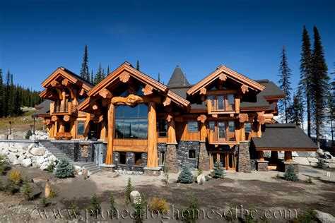large log cabin home floor plans custom log homes log big white log home custom built log homes pioneer log homes of bc