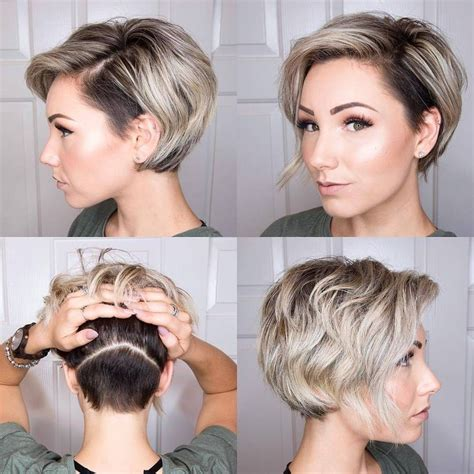 short pixie haircut with med brown and carmel highlights 10 amazing short hairstyles for free spirited women