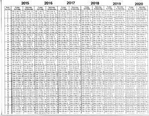 Timeshare Week Calendar 2018 Rci Week Calendar 2016 Calendar Template 2016