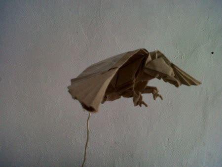 cara membuat bunga dari kertas nasi dewi kurnia madya n membuat burung elang dari kertas