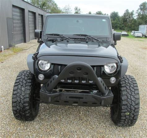 Salvage Jeep Wrangler Unlimited 2015 Jeep Wrangler Unlimited Jk Rebuilt Salvage Rubicon