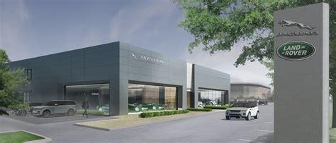 jaguar land rover dealership planning consent granted for new jaguar land rover