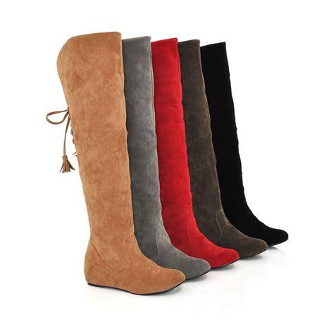 2015 plus size 34 43 fashion boots tassel sweet style