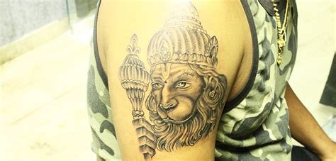 lord hanuman tattoo what do they mean monkey god tattoo