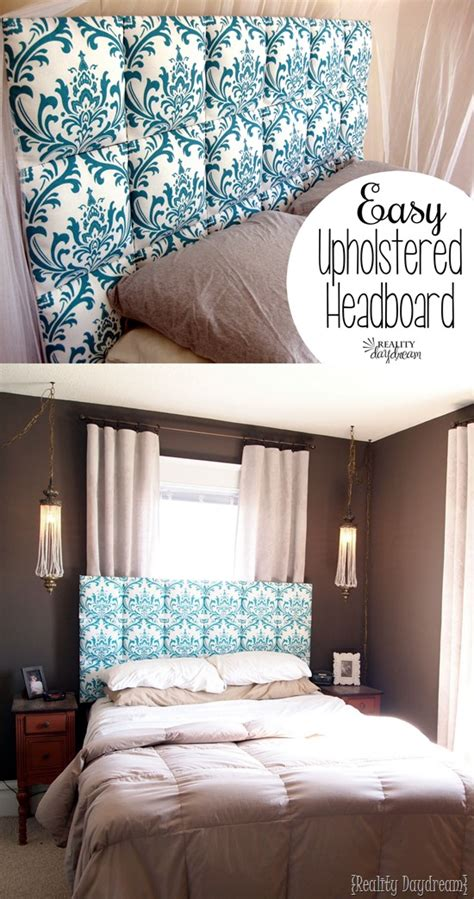 easy fabric headboard easy upholstered headboard tutorial reality daydream