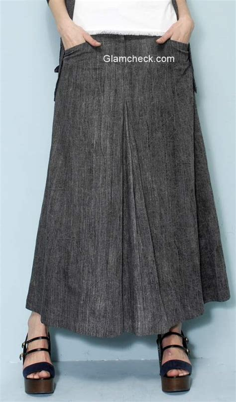 grey cardigan with maxi skirt fall fashion