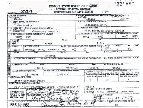 My Birth Records My Original Birth Certificate Mike Watson