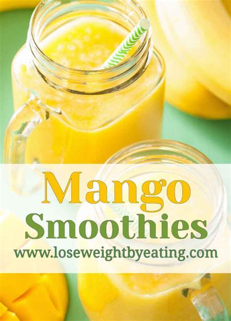 Mango Smoothie Recipe For Detox by 13 Mango Smoothie Recipes For Weight Loss