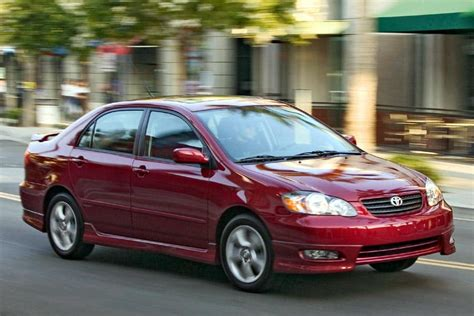 What Is A 2005 Toyota Corolla Worth 2005 Toyota Corolla Reviews Specs And Prices Cars