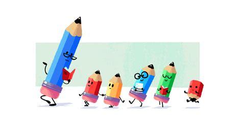 doodle dia do professor dia do professor 233 celebrado doodle do em forma