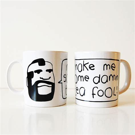 Mr Tea Mr Teh mr tea mug by and toast notonthehighstreet