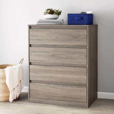 Mainstays Westlake 4 Dresser Rustic Oak