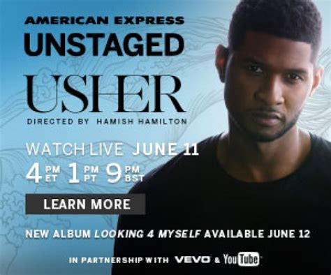 usher r b songs news usher to launch album with interactive live concert