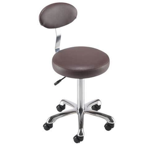 Therapist Stool by Rem Cutting Therapist Stool With Backrest Salons Direct