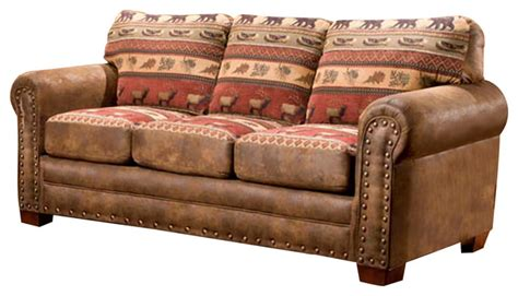 american classic sofa sierra lodge sleeper sofa sleeper sofas by american