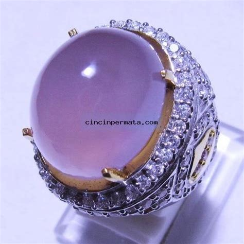 cincin batu lavender baturaja cincinpermata jual