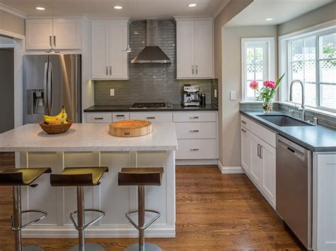 two tone kitchen countertops ideas white cabinets