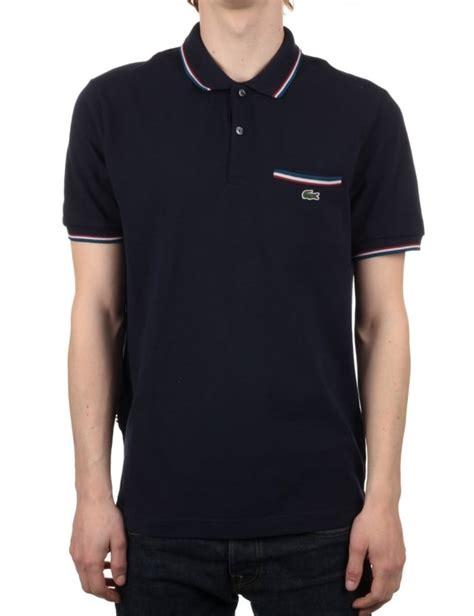 Undefeated Kaos Tshirt Undefeated 30 sleeve ribbed polo marine navy clothing from