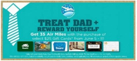 Gift Cards At Sobeys - sobeys ontario 35 air miles when you buy select 25 gift cards canadian freebies