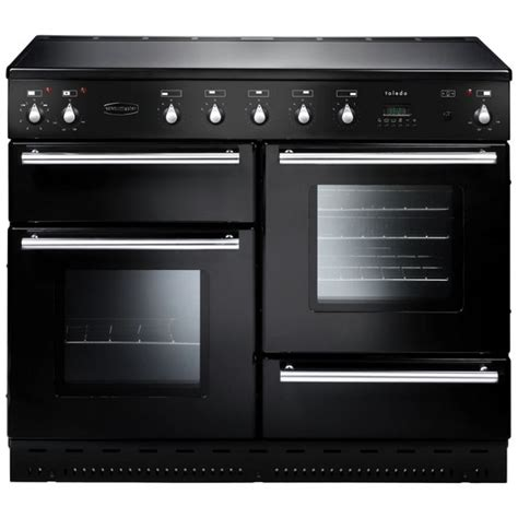 large kitchen appliances buy rangemaster toledo 110 electric range cooker black
