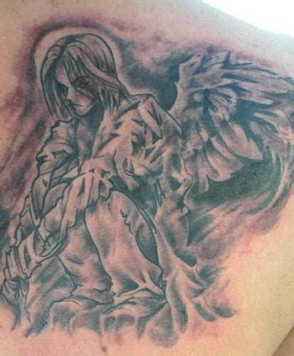 tattoo angel manga anami angel tattoos foot tattoos design