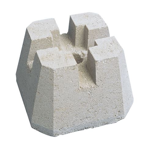 Cement L Base concrete post base blocks quotes