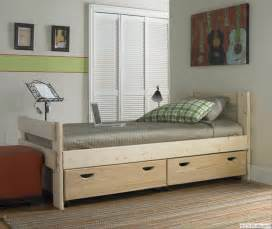 captains bed with storage drawers from 1800bunkbed