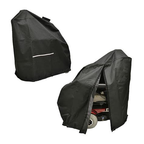 electric wheelchair seat covers heavy duty weatherproof cover with access slits for power