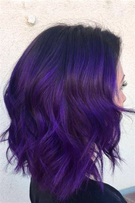 black purple hair color best 25 purple hair ideas on violet hair